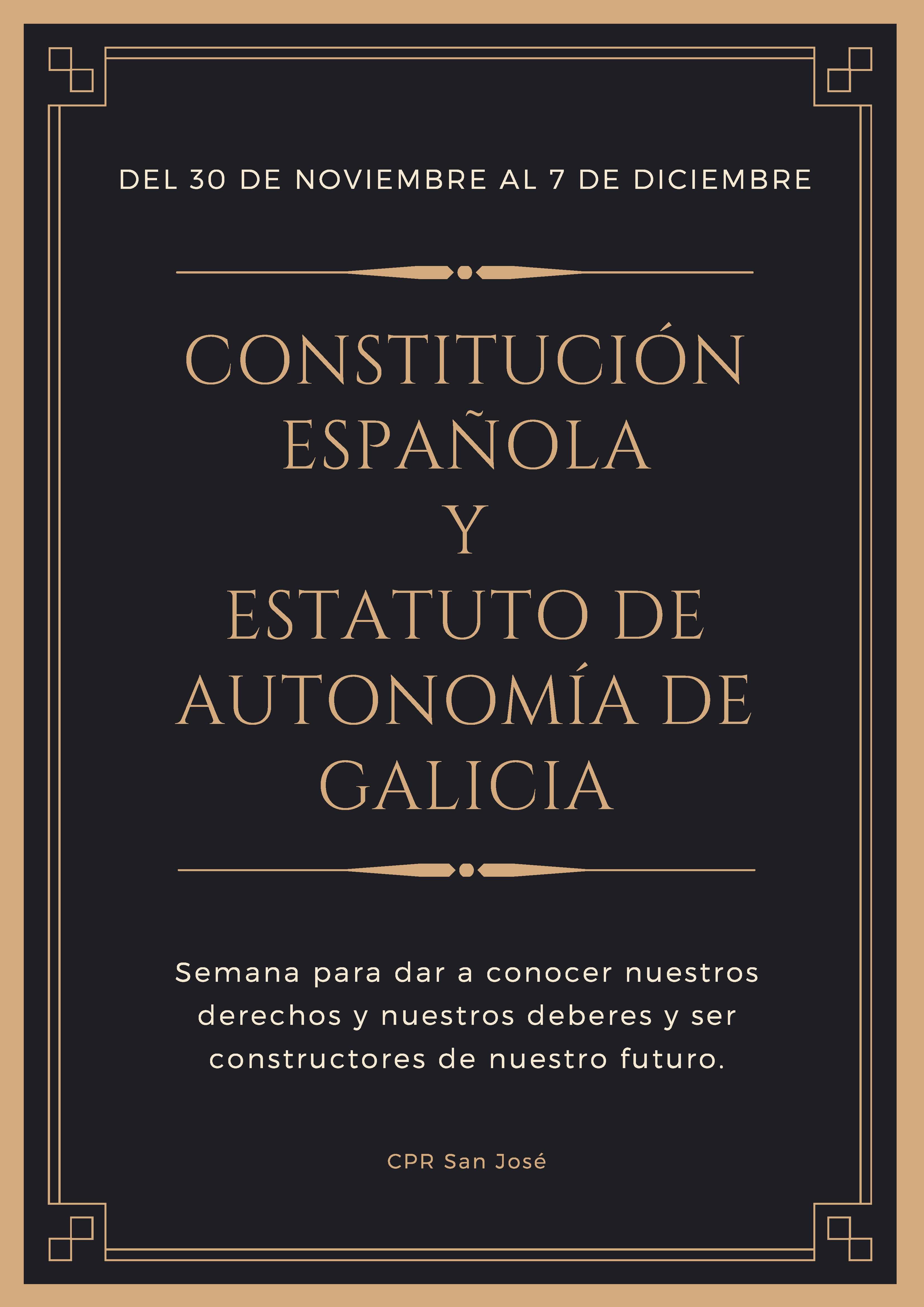 constitucion y estatuto