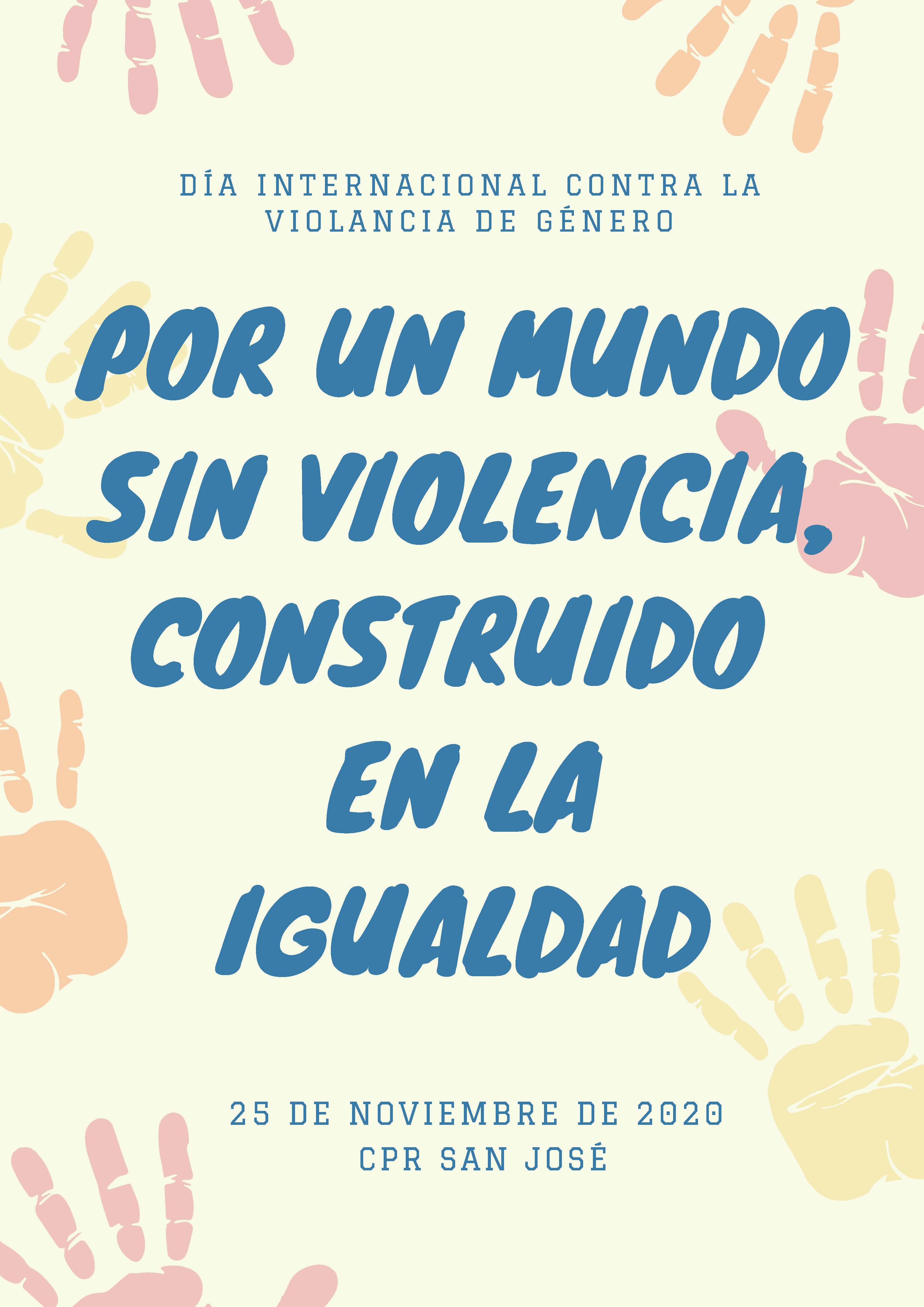 día internacional contra la violancia de género